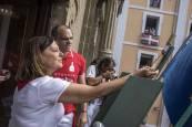 Fotos del chupinazo 2018.JESÚS CASO