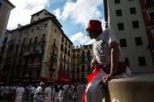 Fotos del chupinazo 2018.EFE