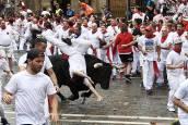 Fotos exclusivas del primer encierro de San Fermín de los fotógrafos de Diario de Navarra