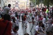 Fotos del segundo encierro de San Fermín 2018.JESÚS CASO