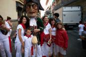 Fotos de los gigantes y cabezudos de Pamplona, 11 de julio de San Fermín 2018