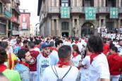 Fotos del sexto encierro de San Fermín 2018
