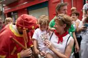 Fotos de los gigantes y cabezudos de Pamplona, 13 de julio de San Fermín 2018