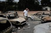 Los incendios de Grecia, en imágenes
