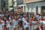 Procesión de las Santas Reliquias, el 25 de julio, durante las fiestas de San Adrián