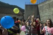 Cohete de fiestas de Isaba 2018. 25 de julio