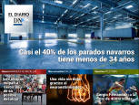 El peso del desempleo juvenil en Navarra, en El Diario DN+