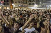 Despedida de los gigantes y XLVIII concurso de ajoarriero en el último día de fiestas de Estella (jueves, 9 de agosto)
