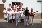 Procesión de San Roque en las fiestas de Monteagudo