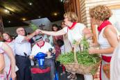 Cabanillas celebra su día grande de las fiestas con una procesión en honor a San Roque
