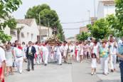 Cabanillas celebra su día grande de las fiestas con una procesión en honor a San Roque (16 de agosto de 2018)