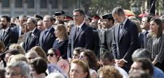 Homenaje a las víctimas de los atentados de Barcelona y Cambrils
