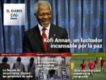Fallece Kofi Annan, paradigma de la diplomacia internacional, en el Diario DN+