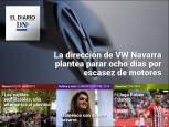 El Diario DN+: posible paro en VW Navarra por la falta de motores