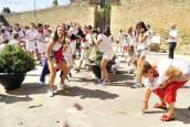 Imágenes del cohete de fiestas de Beire 2018