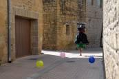 Cohete de las fiestas de Barásoain 2018