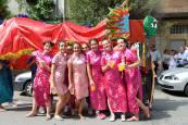 Desfile de disfraces de las cuadrillas de Noáin en fiestas, 23 de agosto