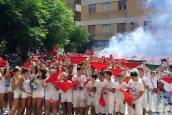 Cohete de las fiestas de Marcilla de 2018