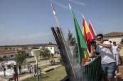 Cohete de las fiestas de Rada 2018