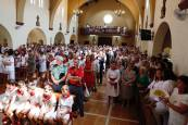 Día de San Bartolomé en las fiestas de Ribaforada 2018, 24 de agosto