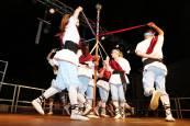 Paloteado de las fiestas de San Bartolomé de Ribaforada 2018