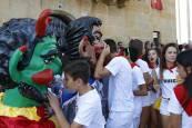 Cohete de las fiestas de Murillo el Fruto 2018