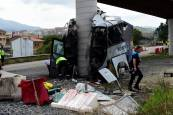 Accidente mortal en Avilés