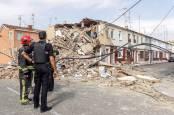 Explosión de gas en una vivienda de Burgos