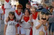 Los quintos del 2000, protagonistas del inicio festivo en Caparroso