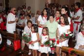 Día de la Virgen del Romero en las fiestas de Cascante (9 de septiembre)