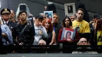 Tributo a las víctimas de los atentados del 11 de septiembre en Nueva York