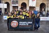 Maratón sobre ruedas entre Pamplona y Puente