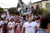 Cohete de las fiestas de Alsasua (13 de septiembre)