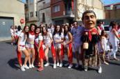 Cohete anunciador de las fiestas de Villafranca en honor a Santa Eufemia