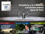 El Diario DN+: Pamplona consume menos agua de Itoiz que el año pasado