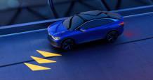 Los faros del futuro Volkswagen