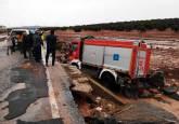 La gota fría provoca inundaciones en Málaga