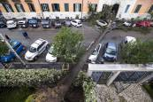 Temporal de lluvia y viento en Italia