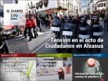 El acto de Ciudadanos en Alsasua, en el Diario DN+