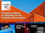 El impuesto a las viviendas desocupadas en Pamplona, en El Diario DN+