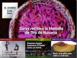El Diario DN+: Saray, premiada con la Medalla de Oro de Navarra