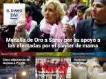 El Diario DN+: Saray recibe la Medalla de Oro de Navarra