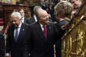 Los Reyes y las infantas, en el Aniversario de la Constitución