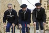 Artajona: carrera de layas por San Saturnino