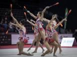 Segunda jornada del Campeonato de España de Gimnasía Rítmica por conjuntos