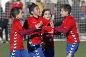Partidos del Torneo Interescolar Fundación Osasuna - 30 diciembre