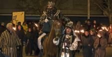 Cabalgata de los Reyes Magos en Estella