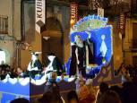 La cabalgata de los Reyes Magos de Tafalla 2019