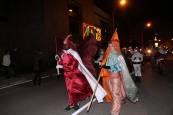 Cabalgata de Reyes Magos en Aoiz