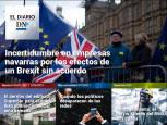 La incertidumbre de las empresas navarras por el Brexit, en El Diario DN+
